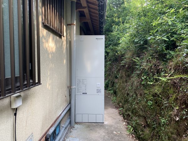 【長崎県雲仙市 S様邸】蓄電池・エコキュート工事
