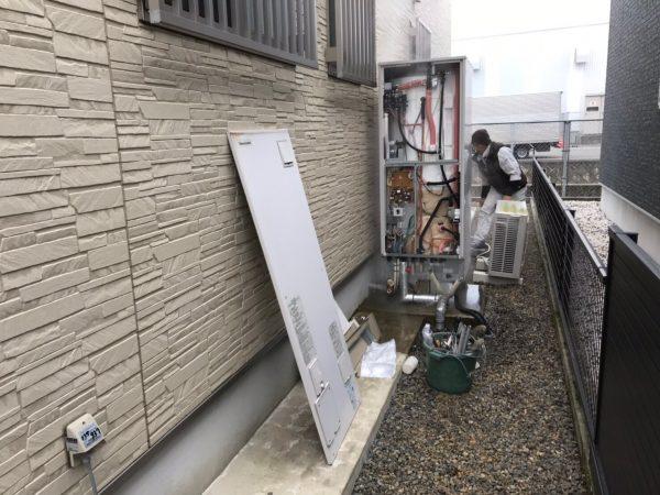 【宮崎県都城市 S様邸】エコキュート工事