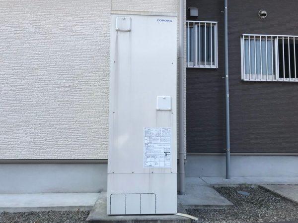 【宮崎県都城市 U様邸】エコキュート工事