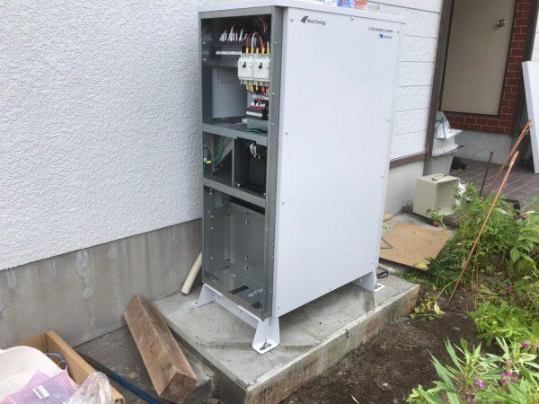 【宮崎県都城市 H様邸】蓄電池工事