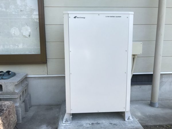 【宮崎県都城市 S様邸】蓄電池工事
