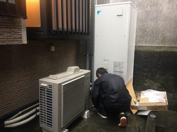 【鹿児島県志布志市 Y様邸】エコキュート工事