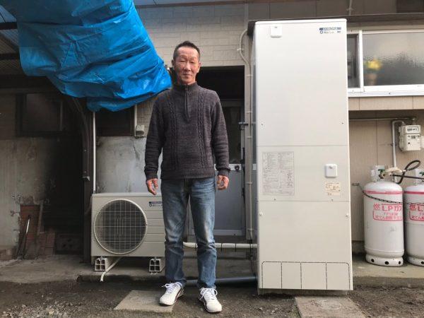 【宮崎県都城市 Y様邸】エコキュート工事