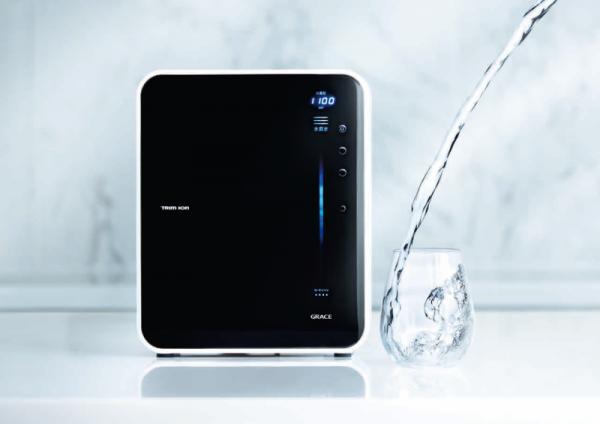 管理医療機器の品質を、ご家庭に。電解水素水調整期 TRIM ION GRACE 誕生