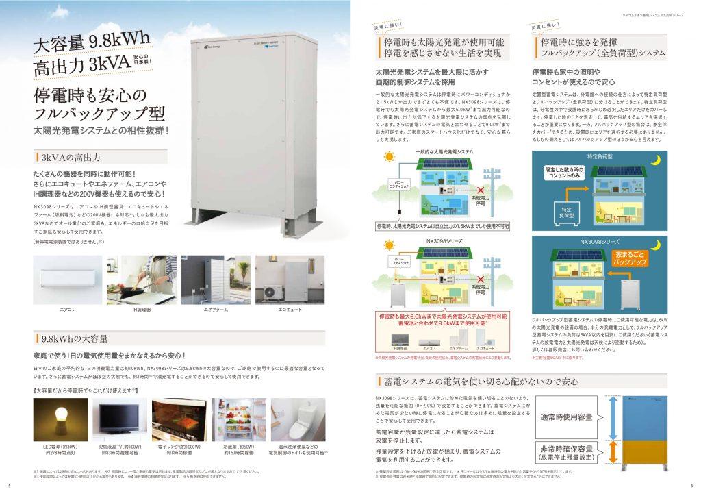 AI(人工知能)蓄電システムが最適なエネルギーライフを実現!