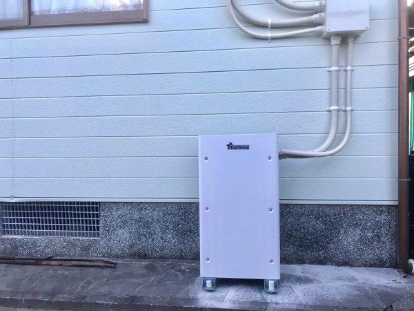 【宮崎県えびの市D様邸】蓄電池新設工事