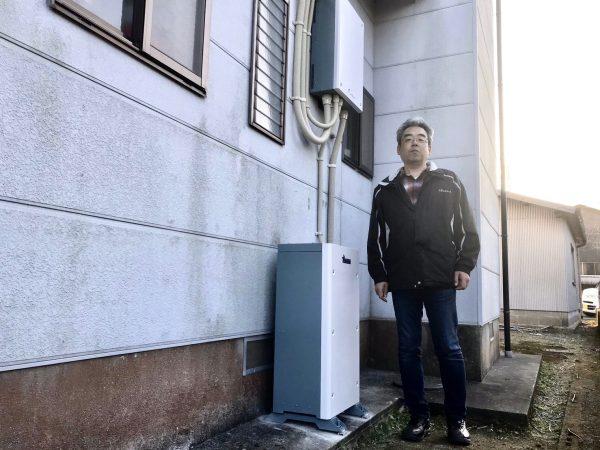 【宮崎県宮崎市 K様邸】蓄電池工事