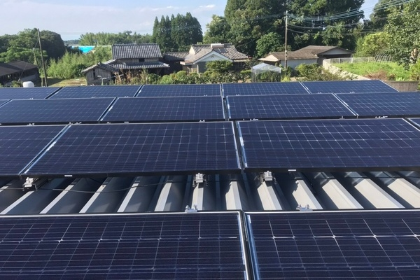 【宮崎県都城市 N様邸】太陽光発電システム工事