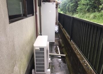 【宮崎県小林市 T様邸】エコキュート工事